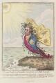 Sir Joseph Banks, Bt, by James Gillray, published by  Hannah Humphrey - NPG D12540