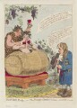 'The wine duty; - or - the triumph of Bacchus & Silenus; with John Bulls remonstrance', by James Gillray, published by  Hannah Humphrey - NPG D12567