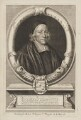 John Lightfoot, by Robert White, published by  Richard Chiswell - NPG D13194
