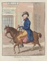 George Hanger, 4th Baron Coleraine ('Georgey a' cock-horse'), by James Gillray, published by  Hannah Humphrey - NPG D12584