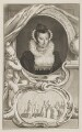 Unknown woman formerly known as Mary, Queen of Scots, by Jacobus Houbraken, after  Isaac Oliver - NPG D13127