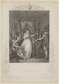 'The Death of Rizzio' (David Riccio (Rizzio); Mary, Queen of Scots), by P. Rothwell, published by  Thomas Kelly, after  Miers - NPG D13131