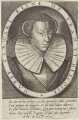 Mary, Queen of Scots, by and published by Thomas de Leu - NPG D13138