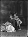 Jane Orde; Lady Eileen Orde (née Wellesley); Julian Orde, by Bassano Ltd - NPG x37319