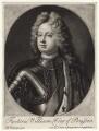 Frederick William I, King of Prussia, by John Smith, after  Friedrich Wilhelm Weidemann - NPG D13202