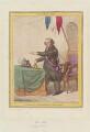 John Horne Tooke ('Président d'Administration Municipale'), by James Gillray, published by  Hannah Humphrey - NPG D12639