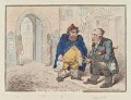 'Meeting of unfortunate citoyens', by James Gillray, published by  Hannah Humphrey - NPG D12648