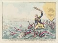 Horatio Nelson ('Extirpation of the plagues of Egypt ..., by James Gillray, published by  Hannah Humphrey - NPG D12660