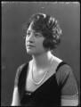 Vera Florence Annie Woodhouse (née Bousher), Lady Terrington, by Bassano Ltd - NPG x36690