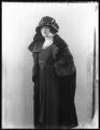 Vera Florence Annie Woodhouse (née Bousher), Lady Terrington, by Bassano Ltd - NPG x36693