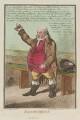 Thomas Tyrwhitt Jones ('Independence'), by James Gillray, published by  Hannah Humphrey - NPG D12698