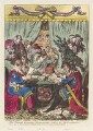 'The French-Consular-Triumverate, settl'ing the new constitution', by James Gillray, published by  Hannah Humphrey - NPG D12719