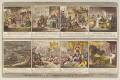 'Democracy; - or - a sketch of the life of Buonaparte' (Napoléon Bonaparte; Lucien Bonaparte; Emmanuel Joseph Sieyès), by James Gillray, published by  Hannah Humphrey - NPG D12735