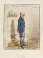 Sir Benjamin Thompson, Count von Rumford ('The comforts of a Rumford stove'), by James Gillray, published by  Hannah Humphrey - NPG D12740