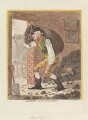 George Hanger, 4th Baron Coleraine ('Georgey in the coal-hole'), by James Gillray, published by  Hannah Humphrey - NPG D12741