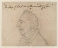 Unknown man, by James Gillray - NPG D12752
