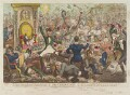 'The Union Club', by James Gillray, published by  Hannah Humphrey - NPG D12754