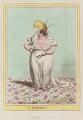 Polly Lyon de Symons (née Goldsmid) ('A lyoness'), by James Gillray, published by  Hannah Humphrey - NPG D12767