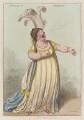 Elizabeth Billington (née Weichsel) ('A bravura air mandane'), by James Gillray, published by  Hannah Humphrey - NPG D12775