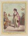 Mary Robinson ('Mary of Buttermere'), by James Gillray, published by  Hannah Humphrey - NPG D12793