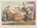 'The nursery, with Britannia reposing in peace', by and published by James Gillray - NPG D12795