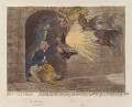 'Bat-catching', by and published by James Gillray - NPG D12801