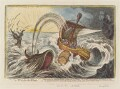 'A tub for the whale', by James Gillray, published by  Hannah Humphrey - NPG D12862