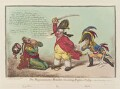 'The magnanimous-minister, chastising Prussian-perfidy', by James Gillray, published by  Hannah Humphrey - NPG D12865
