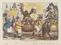 'The triumph of Quassia', by James Gillray, published by  Hannah Humphrey - NPG D12868