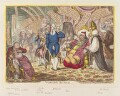 'Visiting the sick', by James Gillray, published by  Hannah Humphrey - NPG D12871