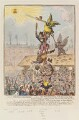 'Election-candidates; - or - the Republican-goose at the top of the pole', probably by James Gillray, published by  Hannah Humphrey - NPG D12891