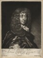 Arthur Capel, 1st Earl of Essex, by Edward Lutterell (Luttrell), published by  John Smith, after  Sir Peter Lely - NPG D13143