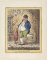'Sad sloppy weather', by James Gillray, published by  Hannah Humphrey, after  John Sneyd - NPG D12902