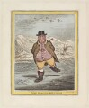 'Fine bracing weather', by James Gillray, published by  Hannah Humphrey, after  John Sneyd - NPG D12903