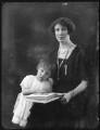 Marioth Christina Trotter (née Hay); Violet Florence Catherine (née Barclay), Lady Hay, by Bassano Ltd - NPG x121232