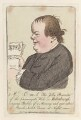 John Campbell ('Mr C-m-l the jolly presenter of the Cannongate Kirk, in Edinburgh'), possibly by James Gillray, published by  Hannah Humphrey - NPG D12962