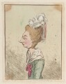 Lady Cecilia Johnston, by James Gillray, published by  Hannah Humphrey - NPG D12965