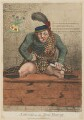 'Sawney in the bog-house', by James Gillray, published by  Mrs Holt - NPG D12978