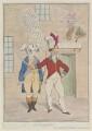 'The thunderer' (King George IV; Sir Banastre Tarleton, Bt), by James Gillray, published by  Elizabeth d'Achery - NPG D12981