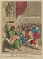 'Westminster school. or - Dr Busby settling accounts with Master-Billy and his playmates', by James Gillray, published by  James Ridgway - NPG D12993