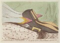 'Fashionable contrasts; - or - the Duchess's little shoe yeilding to the magnitude of the Duke's foot', by James Gillray, published by  Hannah Humphrey - NPG D13009