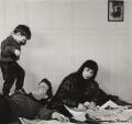 Bernard Kops; Erica Kops (née Gordon) and their son Adam Kops, by Ida Kar - NPG x125530