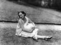 Anna Pavlova with 'Jack', by Lafayette (Lafayette Ltd) - NPG x49320
