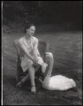 Anna Pavlova with 'Jack', by Lafayette (Lafayette Ltd) - NPG x49321