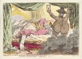 'Duke William's ghost' (King George IV; William Augustus, Duke of Cumberland), by James Gillray, published by  Hannah Humphrey - NPG D13030