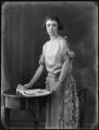 Roberta Bennett (née Mitchell), Countess of Tankerville, by Bassano Ltd - NPG x121236