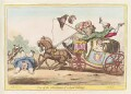 'One of the advantages of a low carriage', by James Gillray, published by  Hannah Humphrey - NPG D13035
