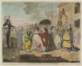 'A sale of English-beauties, in the East Indies', by James Gillray, published by  William Holland - NPG D13054