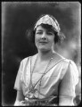 Lady Margaret Cynthia Illingworth (née Lindsay), by Bassano Ltd - NPG x121305