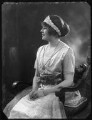 Lady Margaret Cynthia Illingworth (née Lindsay), by Bassano Ltd - NPG x121307